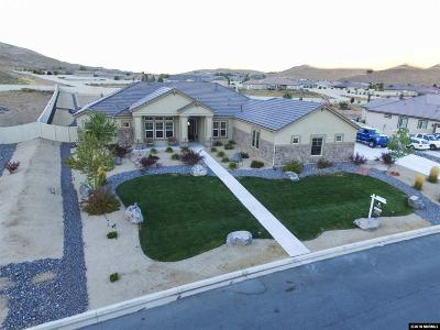 Washoe County Single Family Home New: 335 Spanish Sand Drive
