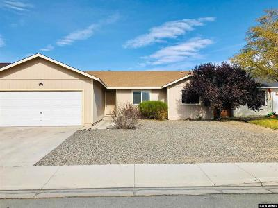 Fernley Single Family Home New: 254 Emigrant Way
