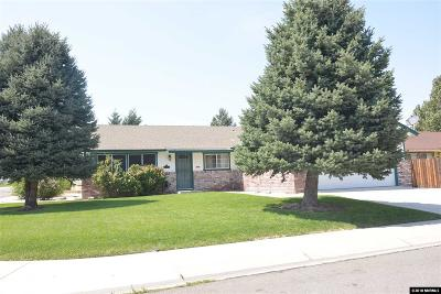Carson City Single Family Home Active/Pending-Call: 2528 Wilma Way