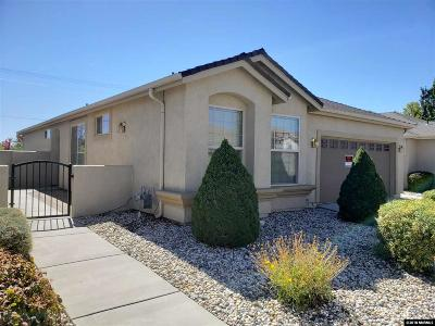 Carson City Single Family Home Active/Pending-Loan: 1213 Bandtail