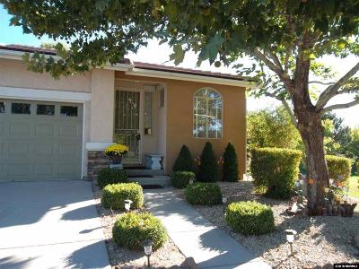 Sparks Single Family Home For Sale: 2005 Calabria Dr