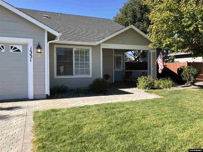 Gardnerville Single Family Home Active/Pending-Loan: 1331 Granborough Dr