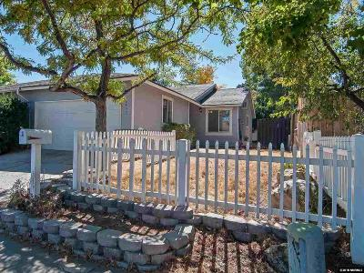 Reno Single Family Home Active/Pending-Loan: 6430 Lotus