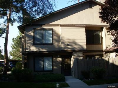 Reno Condo/Townhouse For Sale: 4526 Matich Dr.