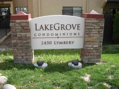 Reno Condo/Townhouse For Sale: 2450 Lymbery #109 #109