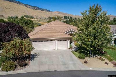 Carson City Single Family Home Active/Pending-Call: 212 Coventry Drive