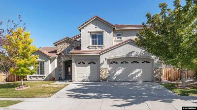 Sparks Single Family Home For Sale: 6020 Axis