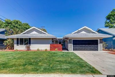 Sparks Single Family Home For Sale: 1670 Vance Drive