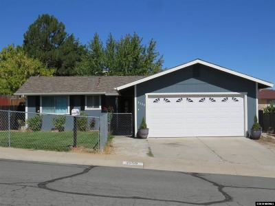 Carson City Single Family Home For Sale: 3559 Onyx Ct.