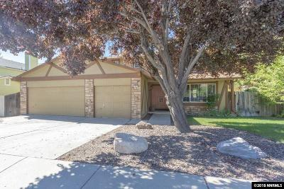Sparks Single Family Home Price Reduced: 1451 Golddust Dr
