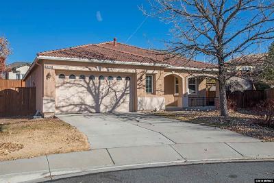 Sparks Single Family Home For Sale: 2630 Cosimo