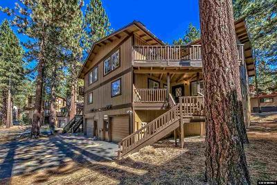 Zephyr Cove Condo/Townhouse For Sale: 96d Lake Village Drive