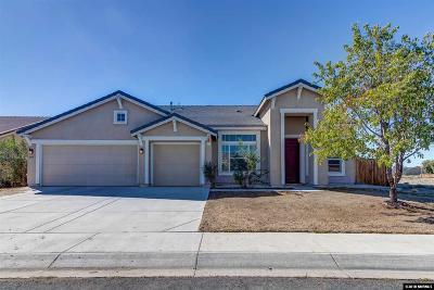 Fallon Single Family Home For Sale: 405 Sapphire Way
