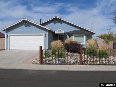 Gardnerville Single Family Home Active/Pending-Call: 1418 Mary Jo