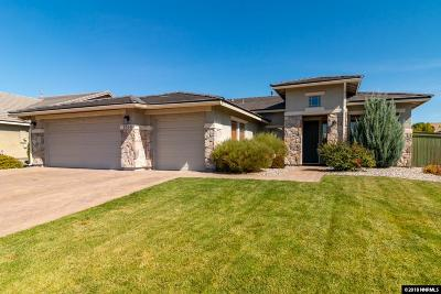 Sparks Single Family Home Active/Pending-Loan: 5040 Chevalier Dr