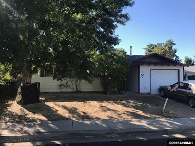 Reno Single Family Home Active/Pending-Call: 11215 White Sage Dr.