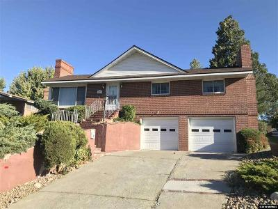 Washoe County Single Family Home For Sale: 150 Mayberry Dr