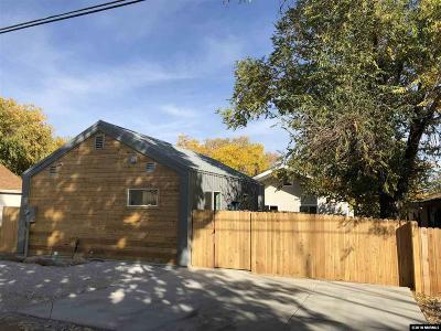 Washoe County Single Family Home For Sale: 1219 Lander St.
