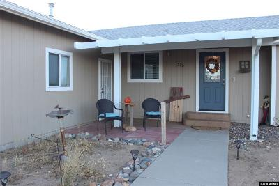 Gardnerville Single Family Home For Sale: 1376 Leonard Road