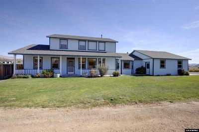 Gardnerville Single Family Home For Sale: 827 Cayuse
