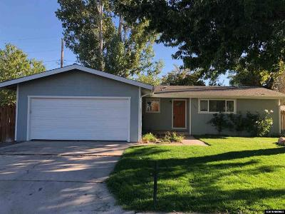 Gardnerville Single Family Home Active/Pending-Loan: 1343 Toler