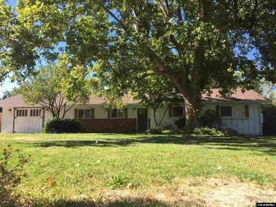 Reno Single Family Home For Sale: 1615 Davidson Way