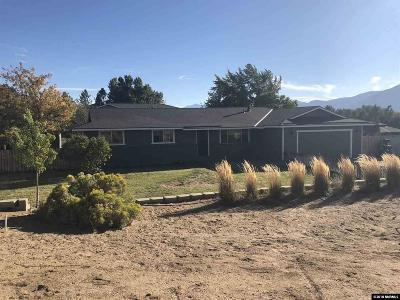 Carson City Single Family Home For Sale: 2511 Hudson