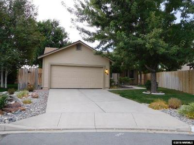 Sparks Single Family Home Active/Pending-Loan: 6710 Evening Star