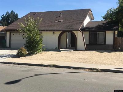 Sparks Single Family Home For Sale: 819 Glen Valley #nv