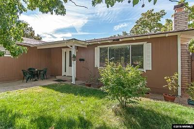 Sparks Single Family Home For Sale: 3301 Montecito Drive