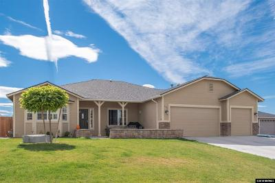 Sparks Single Family Home For Sale: 540 Hay Bale Drive