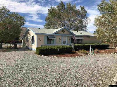 Yerington Single Family Home Active/Pending-Loan: 377 Hwy 339