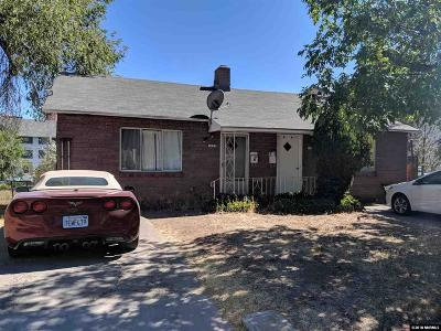 Reno Multi Family Home For Sale: 1145 Seminary & 1120/1122 Bueno Vista