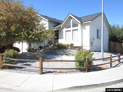 Carson City Single Family Home Active/Pending-Call: 4076 Sweetwater Drive