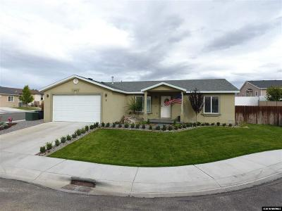 Winnemucca Single Family Home For Sale: 1 Century