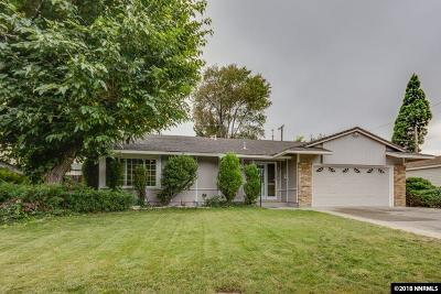 Sparks Single Family Home Price Reduced: 1735 Trabert Way