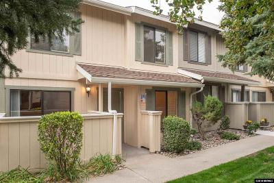 Sparks Condo/Townhouse For Sale: 3230 Wedekind Rd #104
