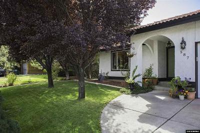 Reno Single Family Home For Sale: 587 Creighton Way