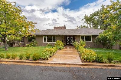 Reno Single Family Home For Sale: 2060 Skyline Blvd