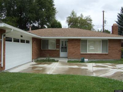 Carson City Single Family Home Active/Pending-Loan: 909 Saratoga Way