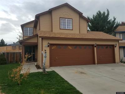 Reno Single Family Home For Sale: 8559 Turtle Creek Ct.
