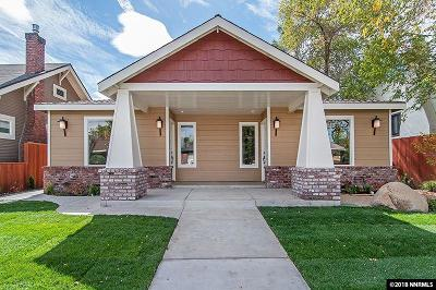 Reno Single Family Home For Sale: 72 Caliente St.