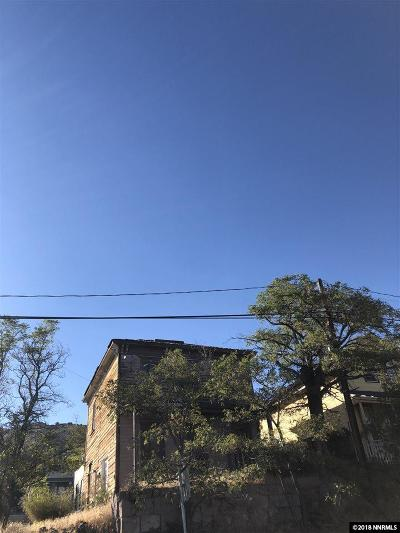Virginia City Single Family Home For Sale: 334 N C