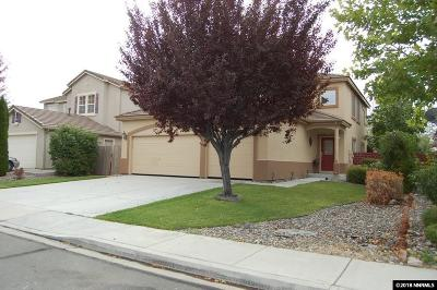 Sparks Single Family Home For Sale: 2389 Madrid Drive