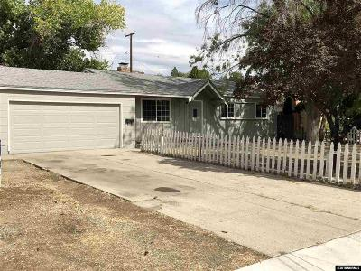 Sparks Single Family Home Active/Pending-Call: 1280 Gault Way