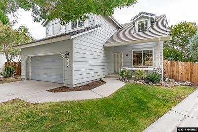 Reno Single Family Home For Sale: 4712 Park Vista Court