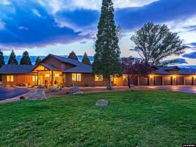 Washoe County Single Family Home For Sale: 600 Mile Circle