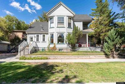 Reno Single Family Home For Sale: 803 Ralston St.