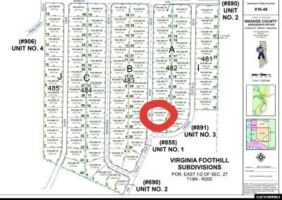 Reno Residential Lots & Land For Sale: 14640 Rim Rock Dr.