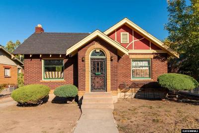 Reno Single Family Home For Sale: 712 S Arlington